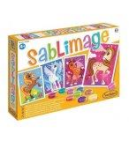 SABLIMAGE LICORNES - SABLE COLORE - SENTOSPHERE - 8812 - LOISIR CREATIF