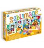 SABLIMAGE PIRATES - SABLE COLORE - SENTOSPHERE - 889 - LOISIR CREATIF