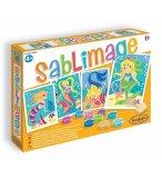 SABLIMAGE SIRENES - SABLE COLORE - SENTOSPHERE - 8806 - LOISIR CREATIF