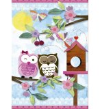 SCRAP PUZZLE - VALENTINE ART : HIBOU - 500 PIECES - EDUCA - 16739