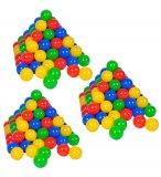 SET DE 300 BALLES MULTICOLORES EN PLASTIQUE - KNORRTOYS - 56790