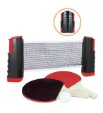 SET DE TENNIS DE TABLE NOMADE PORTABLE ET ADAPTABLE - JEU PING PONG