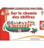 SUR LE CHEMIN DES CHIFFRES - EDUCA - 14785 - JEU EDUCATIF