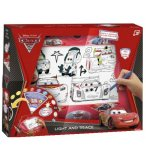 TABLE A DESSINER LUMINEUSE CARS 2 - ARDOISE LIGHT & TRACE - FAMOSA - 700005253A