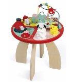 TABLE D'ACTIVITES BABY FOREST EN BOIS - JANOD - J08018 - JEUX EVEIL BEBE