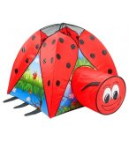 TENTE IGLOO COCCINELLE AVEC TUNNEL - OUTDOOR - JEU PLEIN AIR
