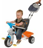 TRICYCLE EVOLUTIF BABY TOO COCOONING BLEU 2 EN 1 - REGABLE - SMOBY - 414203