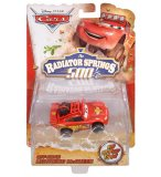 VEHICULE CARS RADIATOR SPRINGS 500 - OFF ROAD FLASH MCQUEEN - VOITURE MINIATURE - MATTEL - BDF63