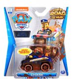 VEHICULE EN METAL PAT PATROUILLE OFF ROAD MUD : CAMION DE POLICE CHASE - VOITURE MINIATURE - SPIN MASTER