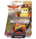 VEHICULE PLANES 2 BULLDOZER AVALANCHE - FIRE & RESCUE - VOITURE MINIATURE - MATTEL - CBN10