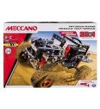 VEHICULE TOUT-TERRAIN 25 MODELES MOTORISES - MECCANO - 17204 - JEU DE CONSTRUCTION