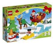 LEGO DUPLO 10837 LES VACANCES D'HIVER DU PERE NOEL