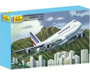 MAQUETTE BOEING 747 - ECHELLE 1/125 - HELLER - 80459