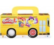 PACK DE 20 POTS COULEURS PLAY-DOH - PATE A MODELER - HASBRO - A7924