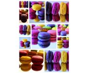 PUZZLE DOUCEUR ET GOURMANDISE : MACARONS - 1500 PIECES COLLECTION PHOTO D'ART NATHAN - 87761