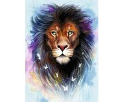 PUZZLE MAJESTUEUX LION 1000 PIECES - COLLECTION ANIMAL DE SAVANE - RAVENSBURGER 139811