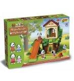 AIRE DE JEUX MAXIMILIAN FAMILILES 96 PIECES - UNICO PLUS - 8933 - JEU DE CONSTRUCTION