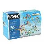 COFFRET 20 MODELES K'NEX IMAGINE 353 PIECES - 18818 - JEU DE CONSTRUCTION