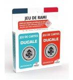 JEU DE RAMI 2 X 54 CARTES A JOUER - DUCALE - 130011502 - JEUX DE CARTES