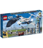 LEGO CITY 60210 LA BASE AERIENNE DE LA POLICE