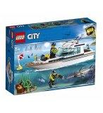 LEGO CITY 60221 LE YACHT DE PLONGEE