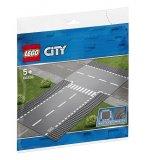 LEGO CITY 60236 DROITE ET INTERSECTION - PLAQUES DE ROUTE