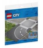 LEGO CITY 60237 VIRAGE ET CARREFOUR - PLAQUES DE ROUTE