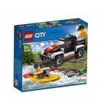 LEGO CITY 60240 L'AVENTURE EN KAYAK