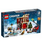 LEGO CREATOR EXPERT 10263 LA CASERNE DES POMPIERS DU VILLAGE D'HIVER