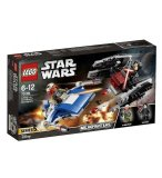 LEGO STAR WARS 75196 MICROFIGHTER A-WING VS SILENCER TIE