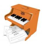 PIANO DESERT SUN EN BOIS 18 TOUCHES + PARTITIONS - VILAC - 50839 - JOUET MUSICAL