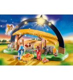 PLAYMOBIL CHRISTMAS 9494 CRECHE AVEC ILLUMINATION