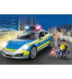 PLAYMOBIL CITY ACTION 70066 PORSCHE 911 CARRERA 4S POLICE - VOITURE