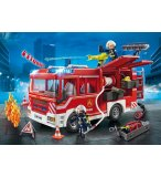 PLAYMOBIL CITY ACTION 9464 FOURGON D'INTERVENTION DES POMPIERS