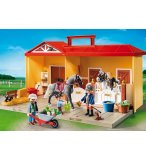 PLAYMOBIL COUNTRY 5671 ECURIE TRANSPORTABLE