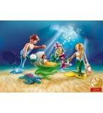 PLAYMOBIL MAGIC 70100 FAMILLE DE SIRENES