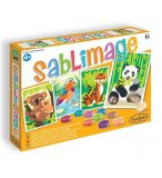 SABLIMAGE ANIMAUX EN DANGER - SABLE COLORE - SENTOSPHERE - 8805 - LOISIR CREATIF