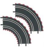 CARRERA GO ET DIGITAL 143 - 2 COURBES 1/90° - ACCESSOIRE CIRCUIT - 61603