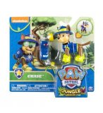 PAT PATROUILLE JUNGLE CHASE AVEC SAC A DOS - FIGURINE CHIEN - PAW PATROL - SPIN MASTER - 20075124