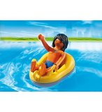 PLAYMOBIL SUMMER FUN 6676 VACANCIER ET BOUEE DE RAFTING
