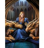 PUZZLE FEROCE LOYAUTE 1000 PIECES - COLLECTION DRAGON - EDUCA - 17692