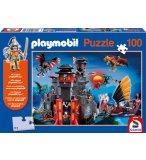 PUZZLE PLAYMOBIL PAYS DES DRAGONS : ASIE 100 PIECES - SCHMIDT - 56074