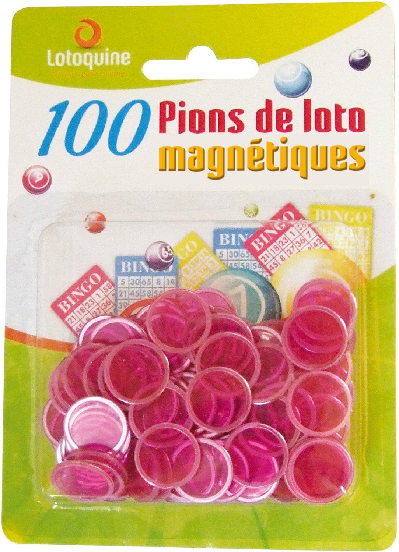 acheter 100 pions de loto magn tiques aimant s plastique marquage. Black Bedroom Furniture Sets. Home Design Ideas