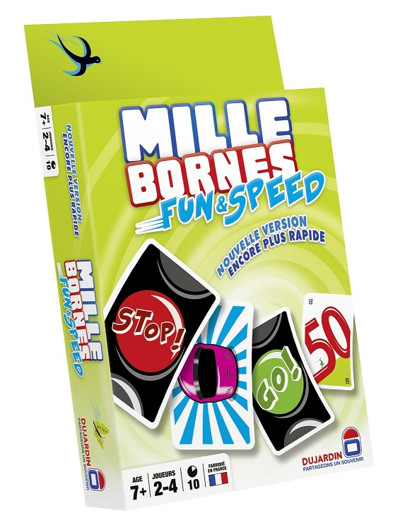 mille bornes fun et speed dujardin jeu 1000 bornes express. Black Bedroom Furniture Sets. Home Design Ideas
