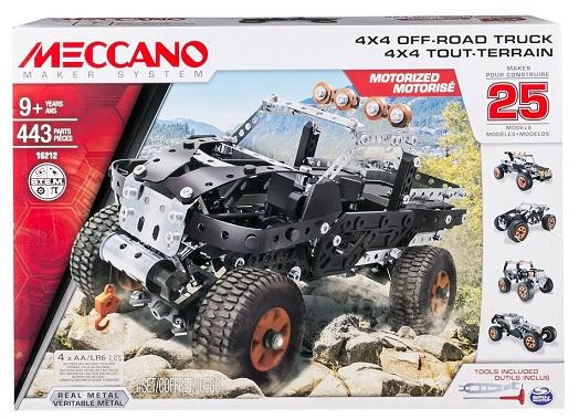 pick up 4x4 tout terrain motoris jeu meccano 25 mod les. Black Bedroom Furniture Sets. Home Design Ideas
