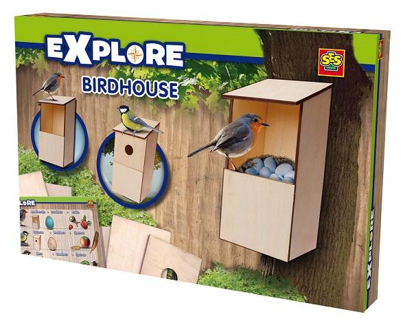maison pour oiseaux en bois fabriquer jouet ses creative. Black Bedroom Furniture Sets. Home Design Ideas