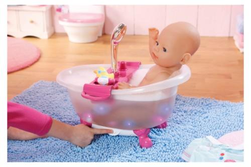 Baby born baignoire interactive poup e 43 cm for Baignoire et accessoires