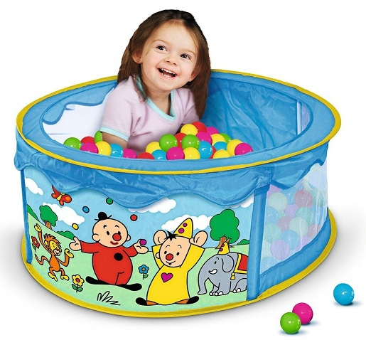 Piscine aire de jeu pop up balles bumba pour b b 18 mois for Piscine a boule bebe