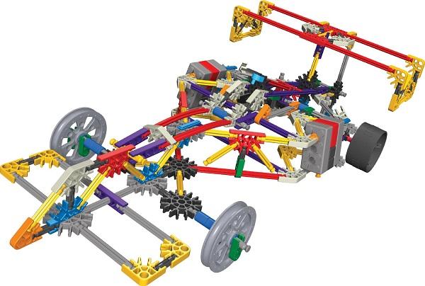 Knex Baril De Construction 521 Pi Ces Super Value Pack