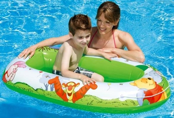 art bateau gonflable winnie l ourson pneumatique intex np jeu de piscine